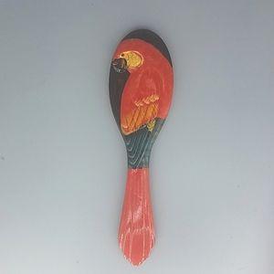 Parrot Handheld Mirror